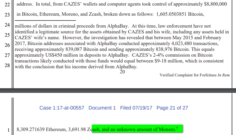 Statement by FBI on Alphabay investigation